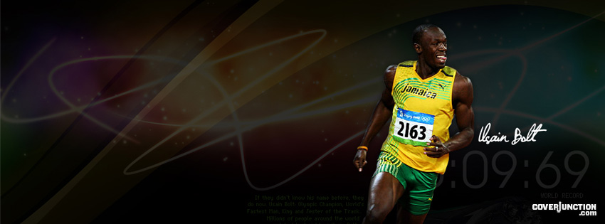 Usain Bolt Facebook Cover