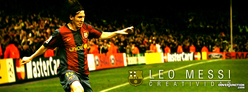 Lionel Messi Facebook Cover - CoverJunction