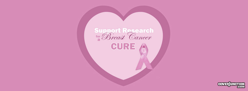 Breast Cancer Cure facebook cover