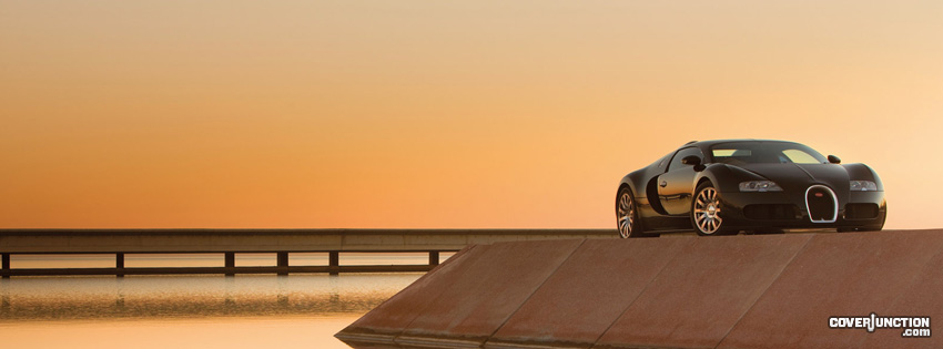 Bugatti Facebook Cover - CoverJunction