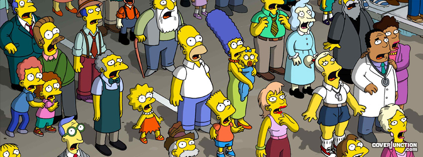 The Simpsons Facebook Cover - CoverJunction