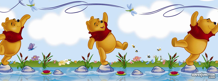 Winnie the Pooh facebook cover