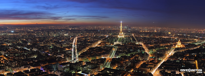 Paris Facebook Cover - CoverJunction