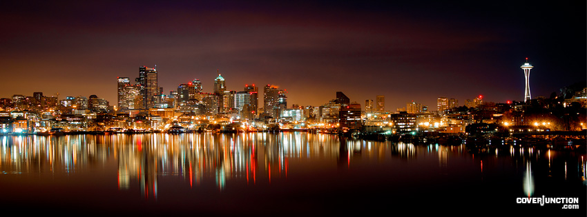 Seattle Facebook Cover - CoverJunction