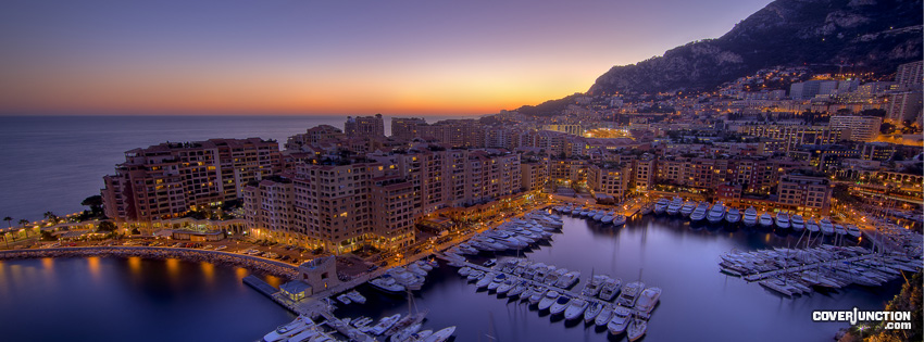 Monaco Facebook Cover - CoverJunction