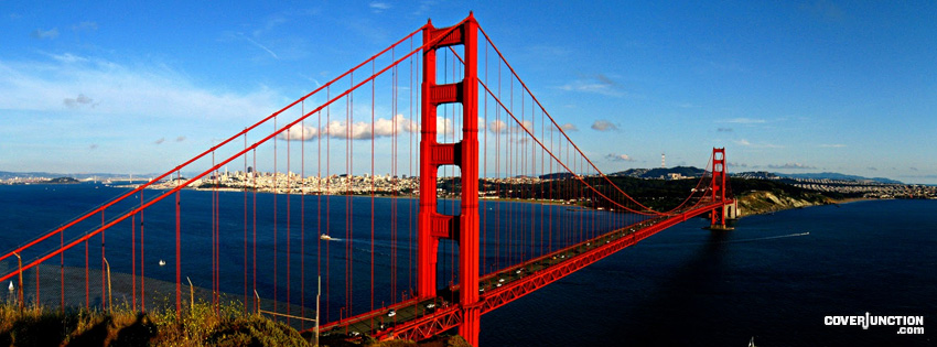 Golden Gate Bridge Facebook Cover - CoverJunction