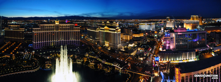 Las Vegas Facebook Cover - CoverJunction