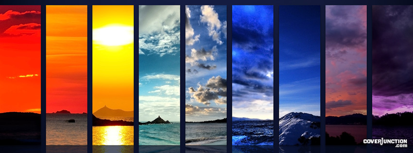 Sea and Sky of All Seasons  Facebook Cover