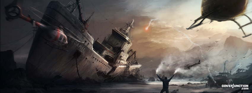 Run Aground Facebook Cover - CoverJunction