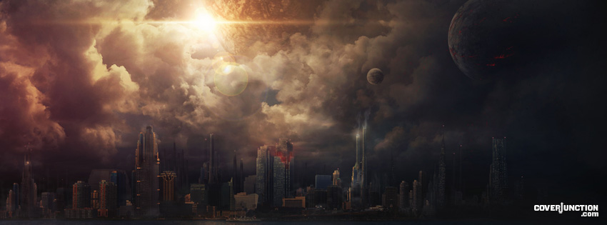 Apocalypse Coming Facebook Cover - CoverJunction