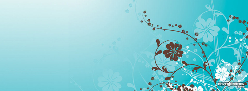 Floral Skies Facebook Cover