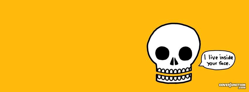 Skull facebook cover