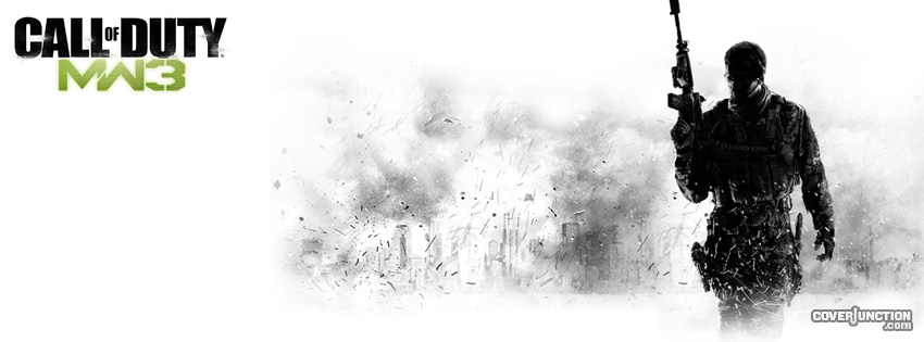 Call of Duty: Modern Warfare 3 facebook cover