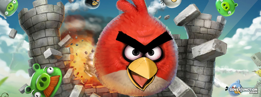 Angry Birds Facebook Cover - CoverJunction