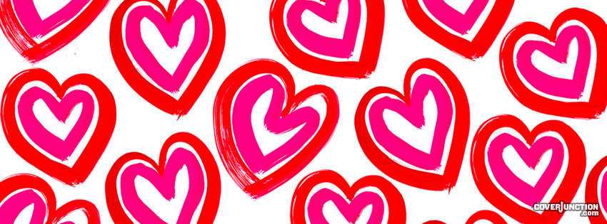 Heart Cartoon Facebook Cover