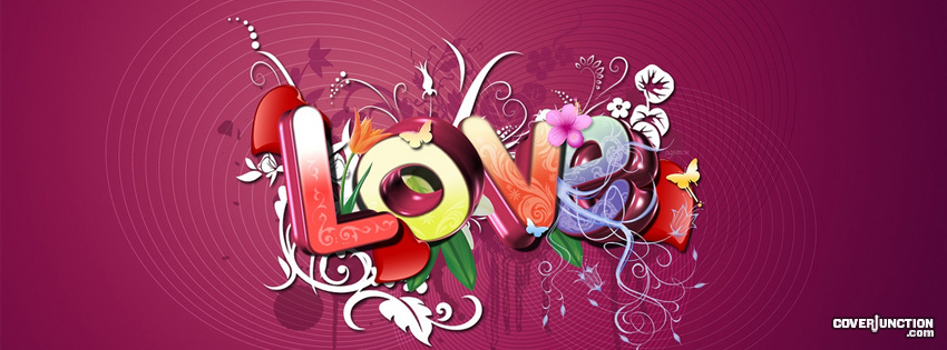 Love Imagination facebook cover