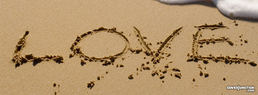 Love On The Beach facebook cover