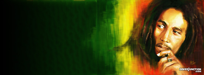 Bob Marley Facebook Cover - CoverJunction