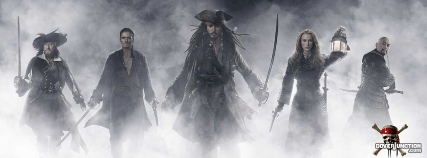 Pirates of the Caribbean facebook cover