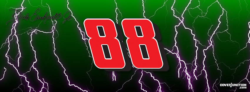 Dale Earnhardt Jr Facebook Cover - CoverJunction