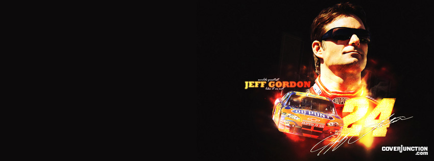 Jeff Gordon facebook cover