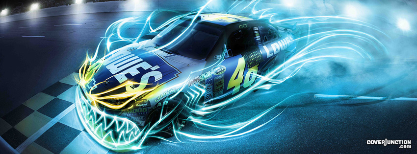 Jimmie Johnson Facebook Cover - CoverJunction