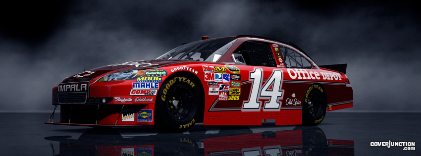 Tony Stewart Facebook Cover - CoverJunction