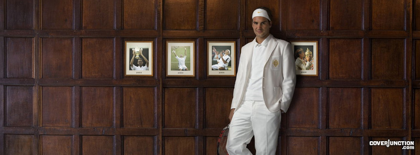 Roger Federer Facebook Cover - CoverJunction