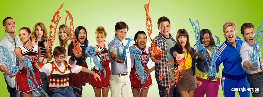 Glee facebook cover