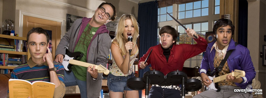 The Big Bang Theory Facebook Cover - CoverJunction