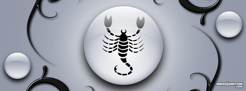Scorpio Facebook Cover - CoverJunction
