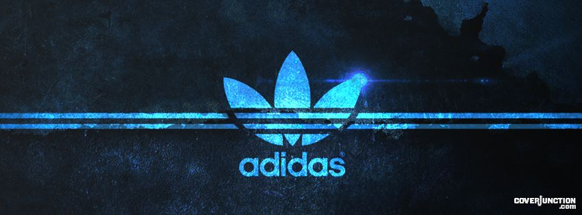 addidas blue electric facebook cover