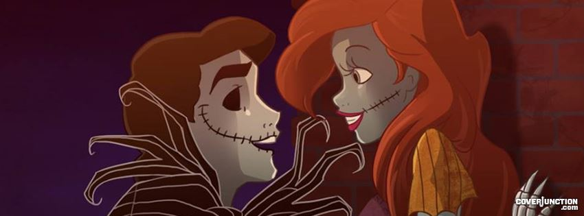 Princess Ariel & Prince Eric  facebook cover