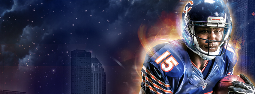 2013 Season - Brandon Marshall facebook cover