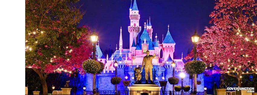 "Disneyland "" Facebook Cover by Pamela P."