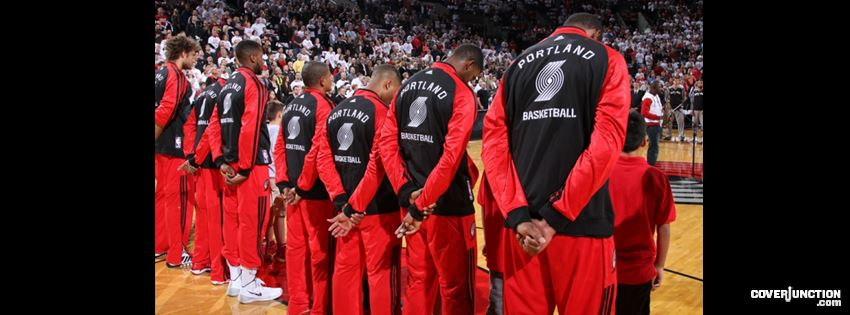 Blazers line up Facebook Cover