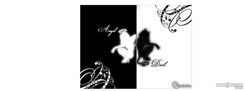angel devil Facebook Cover
