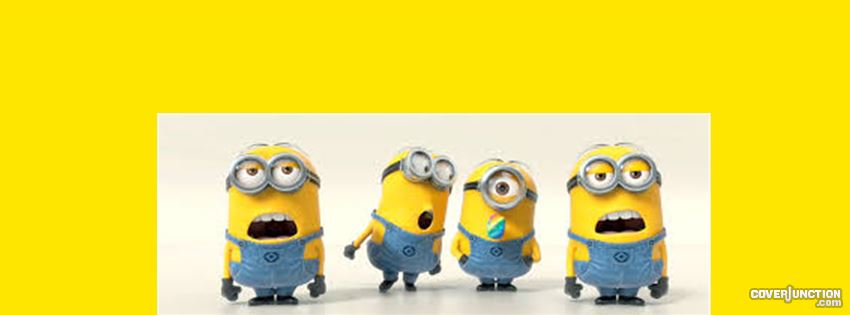 Minion facebook cover