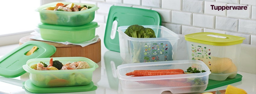 Tupperware Meal Prep Facebook Cover