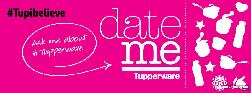 Tupperware Date a Party facebook cover