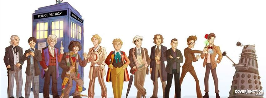 11 Doctors - Doctor Who facebook cover