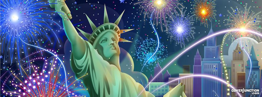 Happy 4th of July Facebook Cover