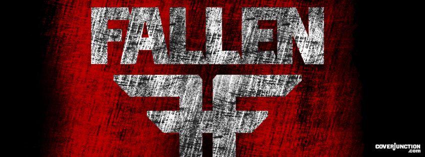 Fallen Logo facebook cover