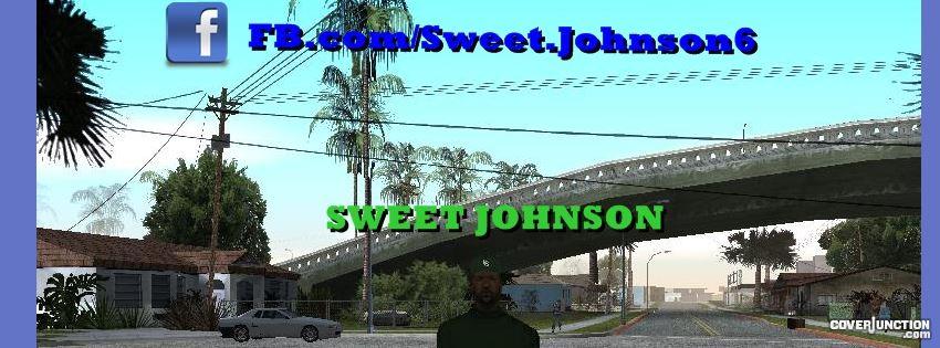 Sweet Johnson facebook cover
