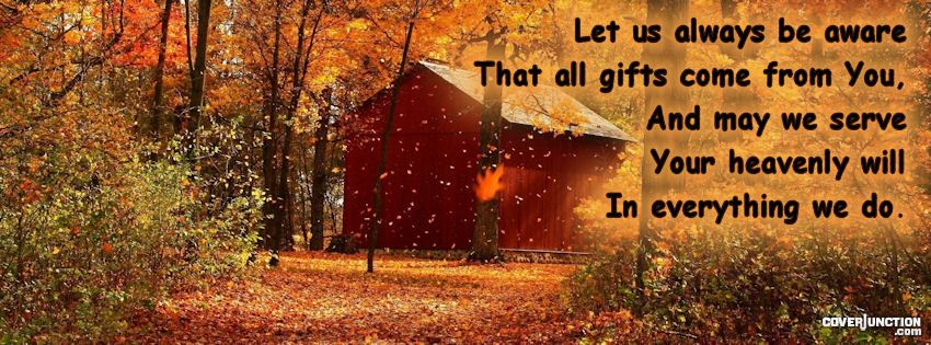 Autumn Heavenly Gifts facebook cover