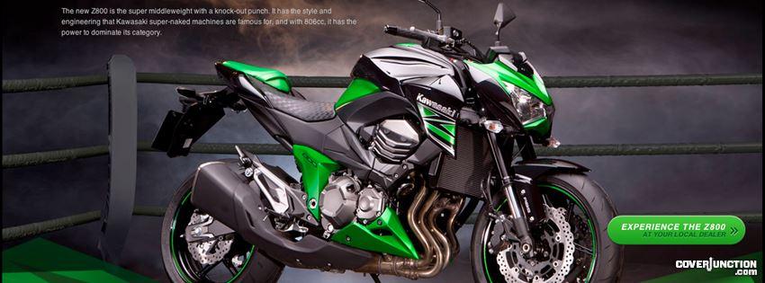 Ninja Z1000 facebook cover