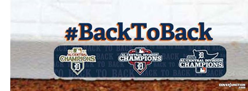 #BackToBack Tigers Facebook Cover