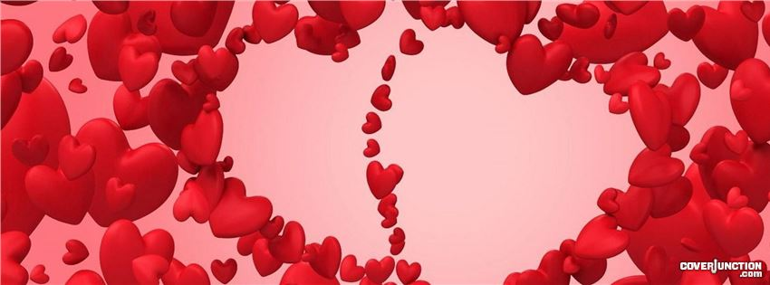 Valentine Bubbles facebook cover