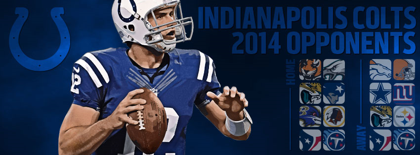 2014 Colts Opponents Cover Photo facebook cover