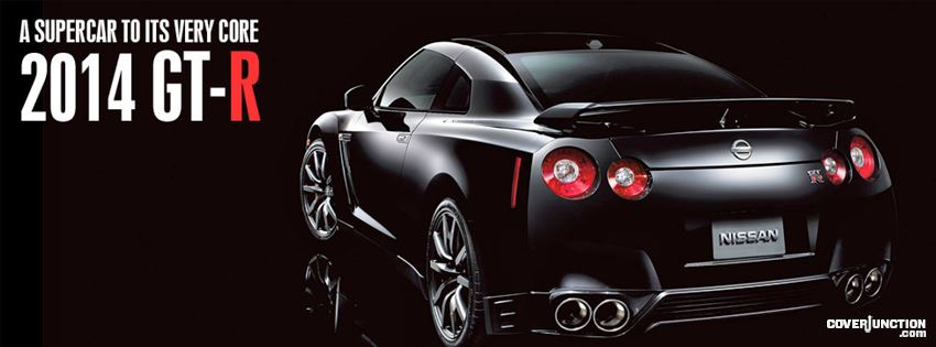 Nissan GT-R facebook cover